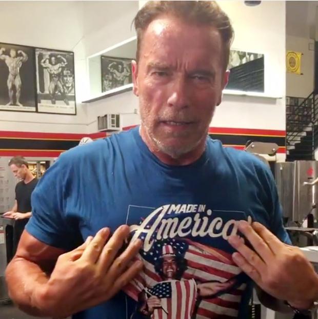 Arnold Schwarzenegger, filmski Terminator in Konan, praznuje 70 let (foto: profimedia)