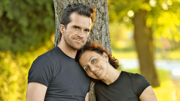 Melinda in Andrej Škufca: Želiva si družine (foto: Primož Predalič)