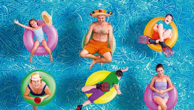 S taščo na morje? Mlada družina potrebuje čas zase! (foto: Shutterstock)