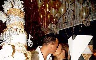 Jennifer Lopez in Alex Rodriguez: Rojstni dan v stilu