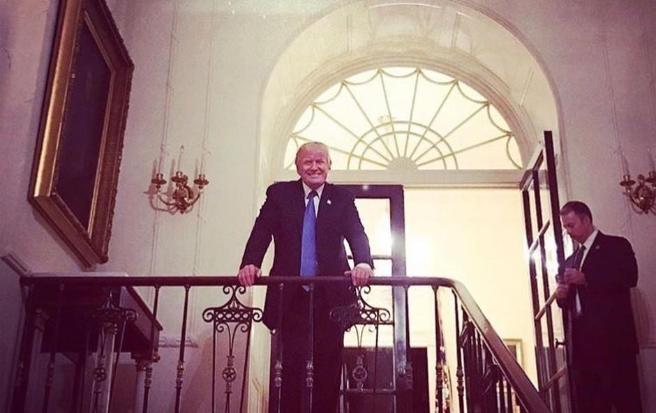 Čeprav ne verjame v smiselnost dopusta, Donald Trump zdaj vendarle odhaja na dopust (foto: profimedia)