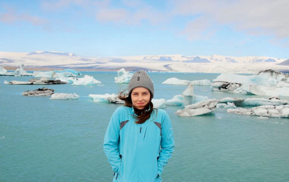 Maja Keuc: Potepa se po Islandiji (foto: osebni arhiv)