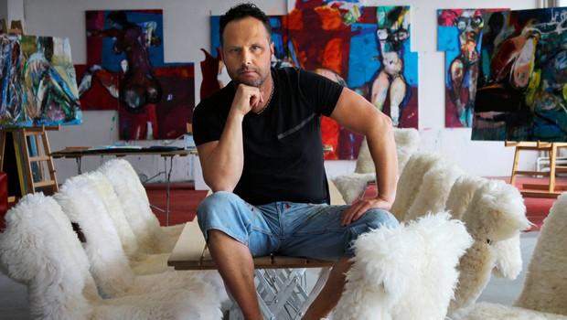 Klemen Brun: Po naključju postal vodja umetniškega projekta (foto: osebni arhiv)