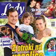 """Anže Zavrl (Gadi): """"Naša Lana začne takoj migati, ko zasliši kakšno poskočno polko."""" Več v novi Lady!"""