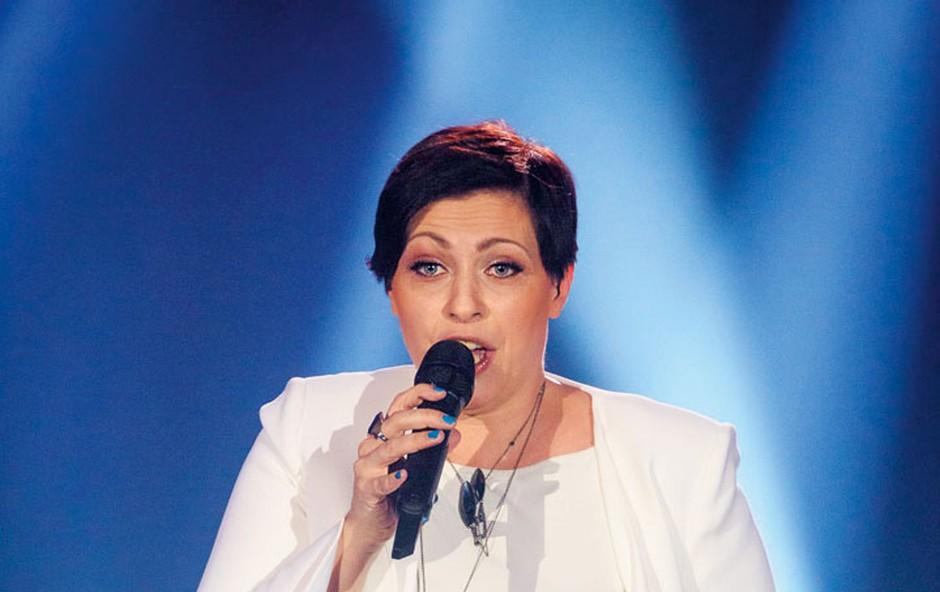Sin Nuške Drašček že na maminih koncertih (foto: Sandi Fišer)