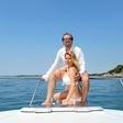 Gianni Rijavec uživa na morju: Na barki je najlepše