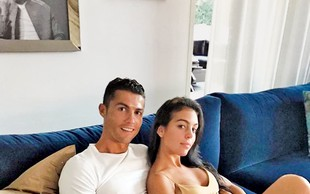 Georgina Rodriguez: Z Ronaldom pričakujeta deklico