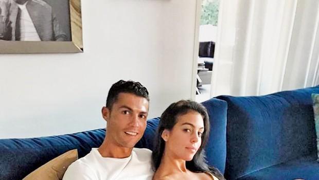 Georgina Rodriguez: Z Ronaldom pričakujeta deklico (foto: Profimedia)