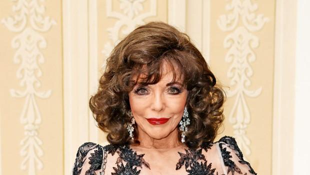 Joan Collins: Leta ji ne pridejo do živega (foto: Profimedia)