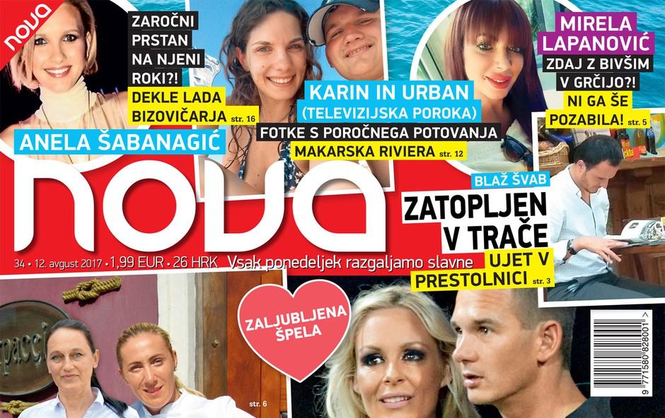 Zaljubljena Špela Grošelj: Ujeta v Portorožu! Več v novi Novi! (foto: Revija Nova)
