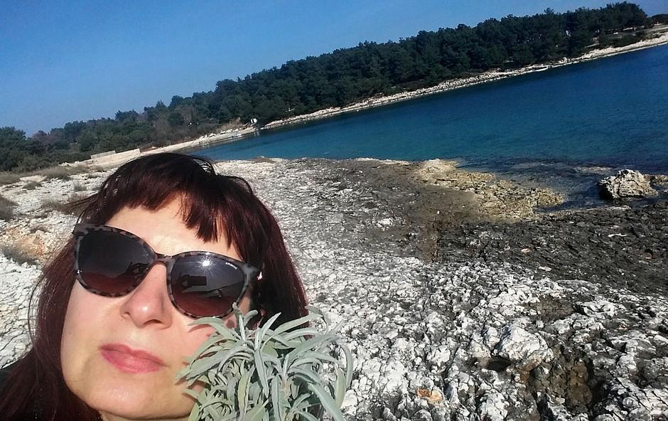 """Violeta Tomič: """"Verjamem v večno energijo duše"""" (foto: osebni arhiv)"""