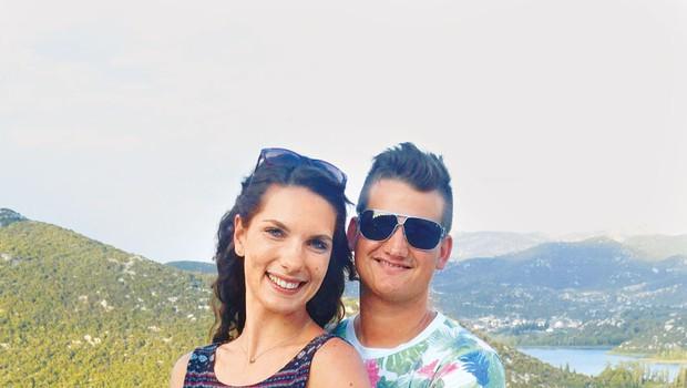 Karin in Urban Žertek: Končno na medene tedne (foto: osebni arhiv)