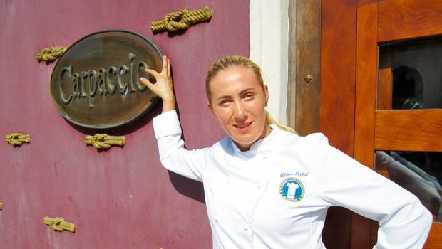 Alma Rekić: Zapušča gostinsko ekipo v Kopru (foto: Alpe, Goran Antley)