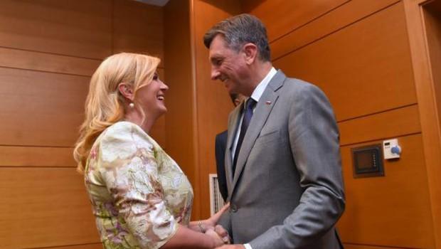 Hrvaška predsednica Kolinda Grabar-Kitarović v boj za še en mandat (foto: Hina/STA)