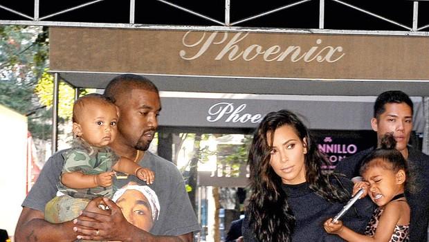 Kim in Kanye: Pričakovala naj bi še enega otroka (foto: Profimedia)