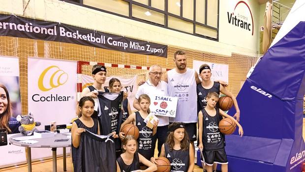 Miha Zupan: Košarkaški kamp podrl rekorde (foto: Turizem Kranjska Gora)