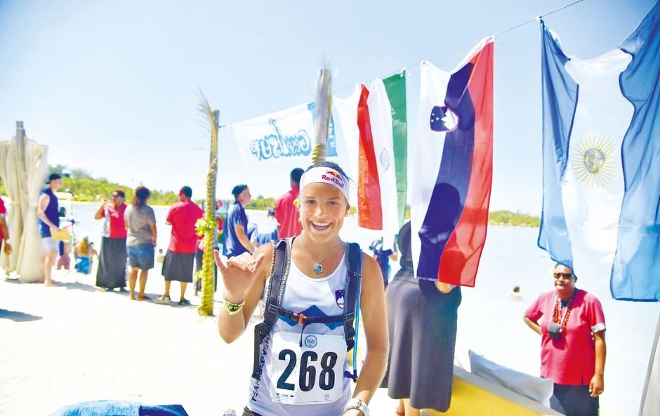 Uspešna športnica Manca Notar ostro proti dopingu (foto: osebni arhiv)