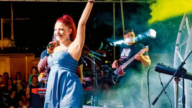 Tanja Žagar: Aktivna nosečnica (foto: Vojko Rotar)