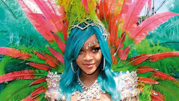 Rihanna: Obline kipele na vse strani (foto: Profimedia)