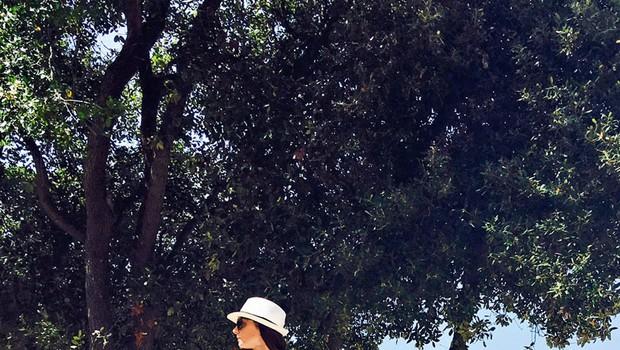 Ana Klašnja: Jašo zelo pazi pred soncem (foto: osebni arhiv)