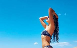 Iryna Osypenko v mini bikiniju zapeljiva kot že dolgo ne