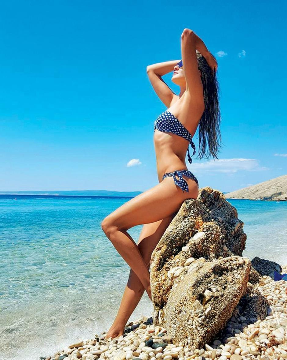 Iryna Osypenko v mini bikiniju zapeljiva kot že dolgo ne (foto: Osebni arhiv)
