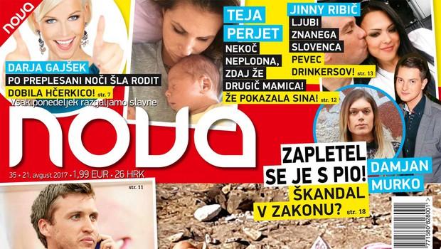 Daša Podržaj posončila meloni! Več v novi Novi! (foto: Nova)