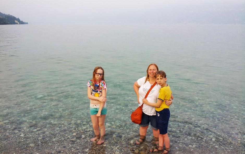 """Nomadske družinske počitnice: """"Mami, kje bomo danes spali?"""" (foto: osebni arhiv)"""