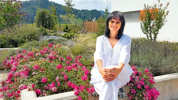 Nataša Bešter: Na vrtu se resnično sprosti (foto: osebni arhiv)