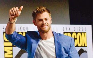Chris Hemsworth je nezadovoljen z videzom