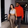 Kim in Kanye presenetila z objavo slike, na kateri se poljubljata