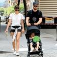 Justin Timberlake in Jessica Biel: Na sprehodu z otrokom