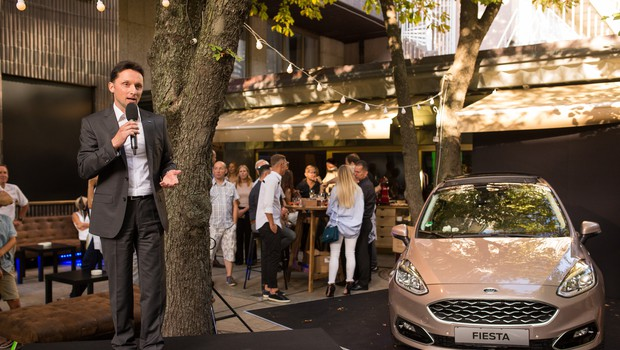 Sproščena zabava ob predstavitvi nove Fieste (foto: Matjaž Očko)