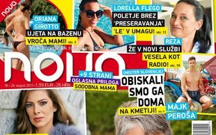 Nataša Tič Raljan prvič v javnosti. Več v novi Novi!