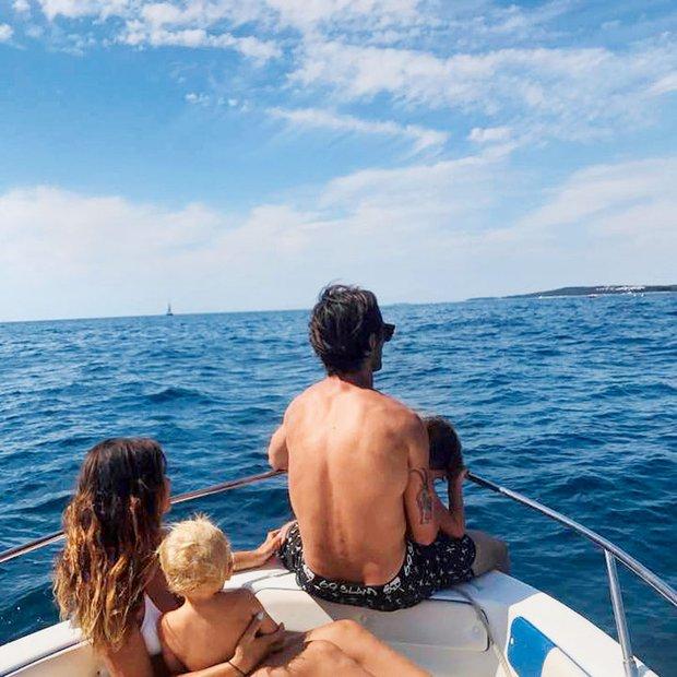 Rok Cvetkov: Družinski oddih na jahti
