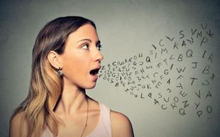 Previdno izbirajte besede, jezik ima posebno moč