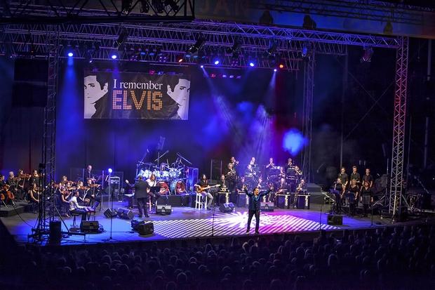 Bleščeči koncert ob 40-letnici smrti kralja rock & rolla  'I remember Elvis' (foto: Dare Brenko)