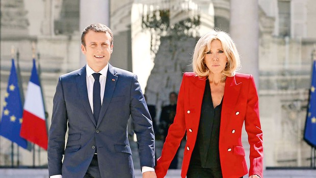 Žena francoskega predsednika dala svoj prvi intervju (foto: Profimedia)