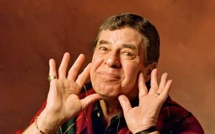 Jerry Lewis: S humorjem se je prebil med zvezde
