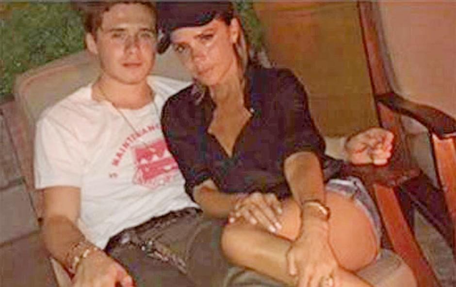Sin Victorie in Davida Beckhama se seli v ZDA (foto: Profimedia)