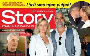Ajda Smrekar in Sebastian Cavazza: Najlepši igralski par! Več v novi Story!