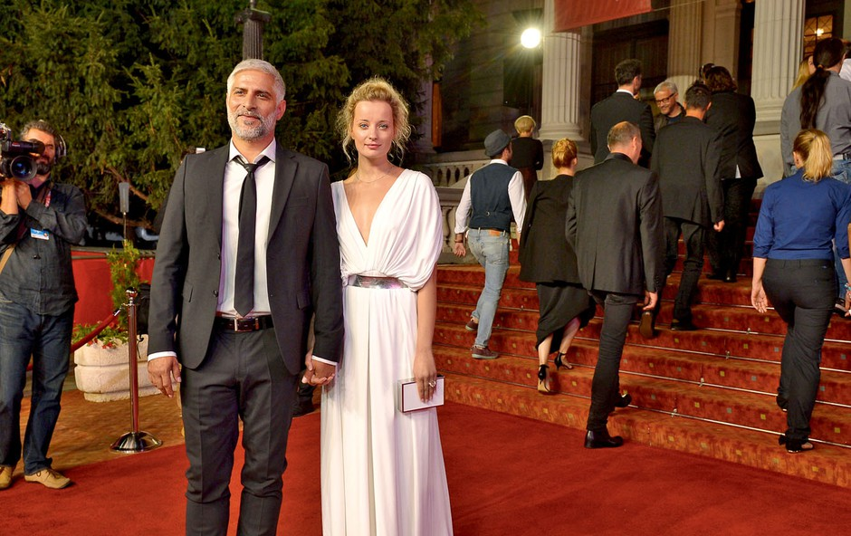 Ajda Smrekar in Sebastian Cavazza: Najlepši igralski par (foto: Primož Predalič, Luka Karlin)