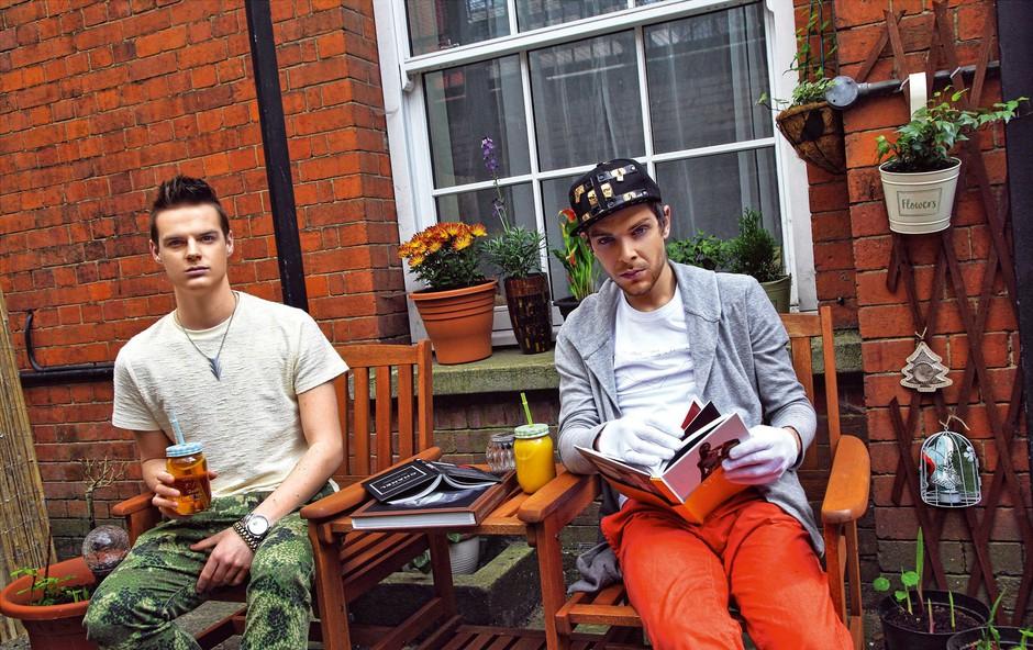 Marjan Krnjič in Jožef Sraka: Velike priprave na modni šov v Londonu (foto: Story press)