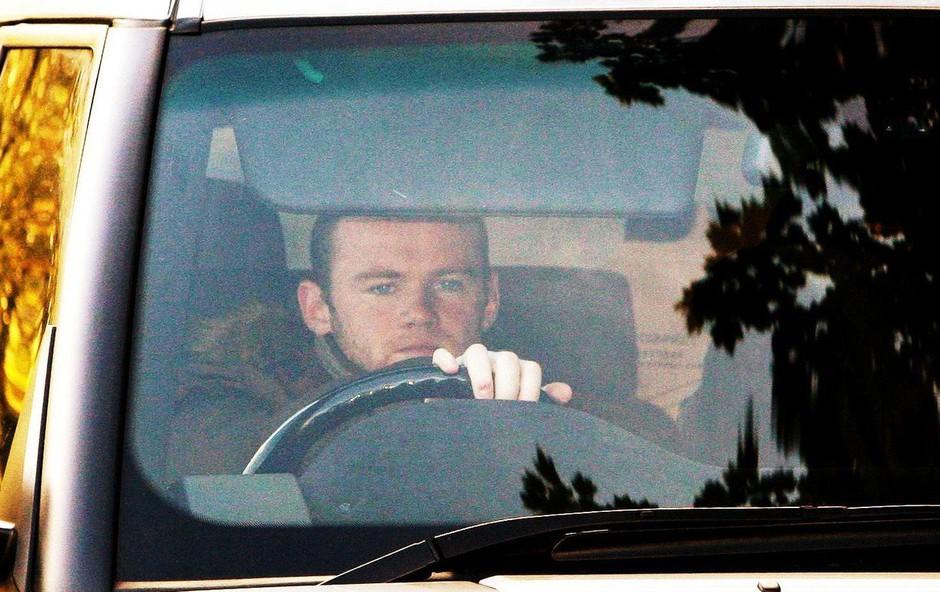 Wayne Rooney aretiran zaradi prehitre vožnje in alkoholiziranosti (foto: profimedia)