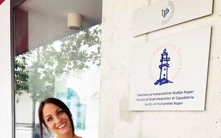 Ema Sladič je diplomirala z odliko
