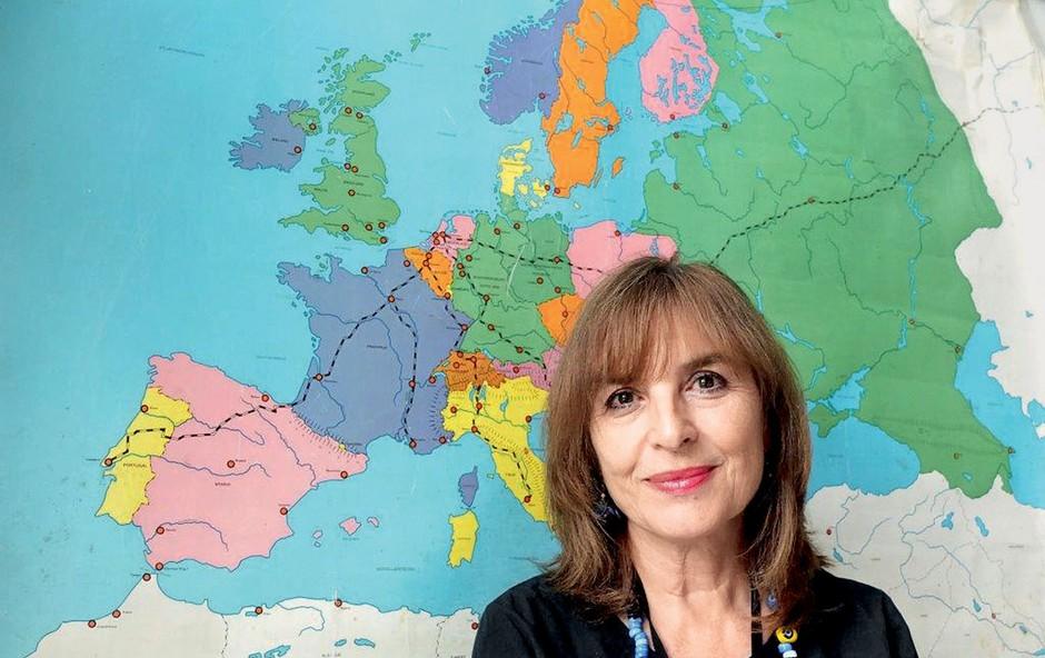 Slovenka Taja Vovk van Gaal na čelu evropske razstave (foto: osebni arhiv)