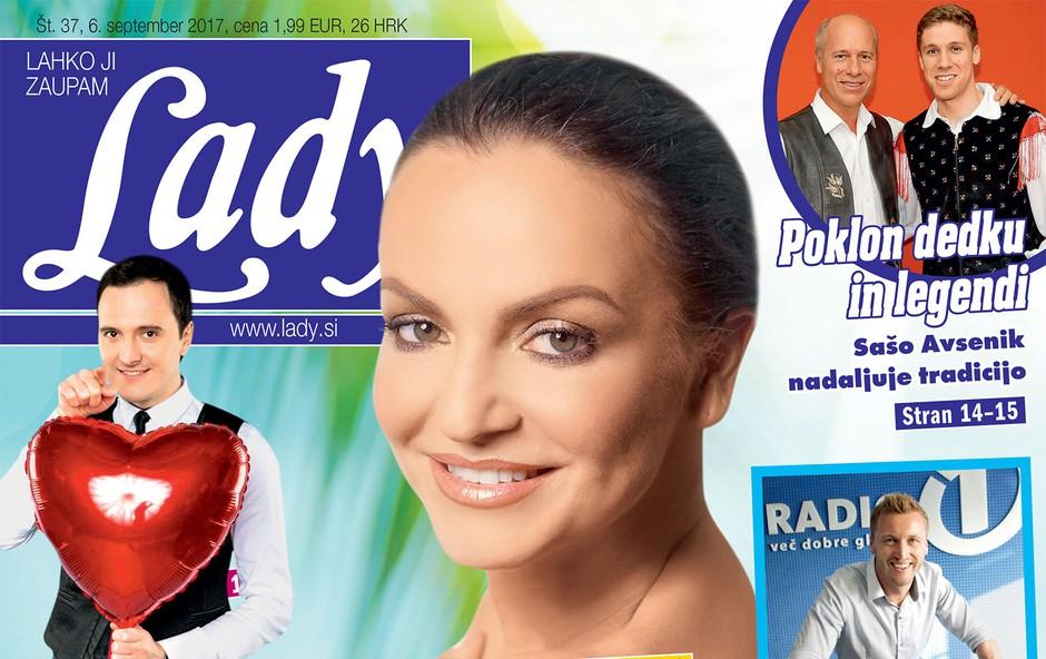 V novi Lady Oriana Girotto, Tanja Ribič in Lorella Flego razkrivajo, kako biti seksi po štiridesetih! (foto: revija Lady)