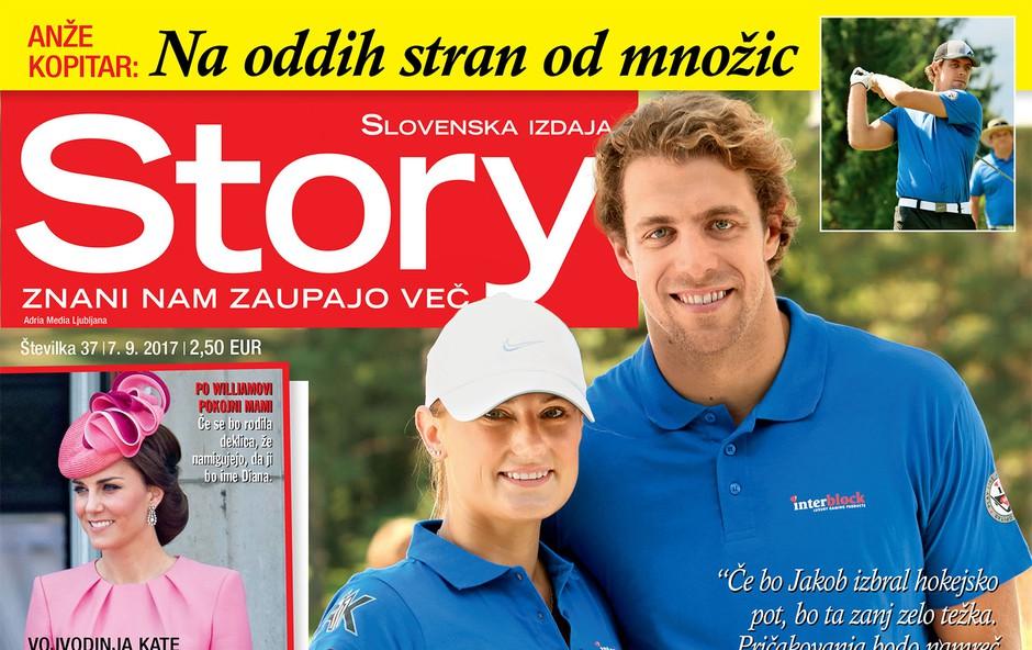 Anže in Ines Kopitar: Prve počitnice z malim Jakobom! Več v novi Story! (foto: Revija Story)