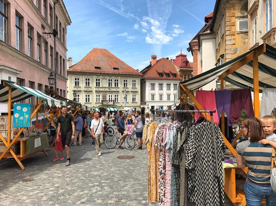 ARTish na Gornjem trgu ostaja do oktobra! (foto: Erika Felicijan / Sonja Ravbar za ARTish.  )