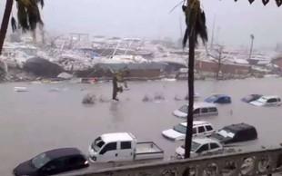Irma je na Karibih povzročila strašno opustošenje in zahtevala več smrtnih žrtev